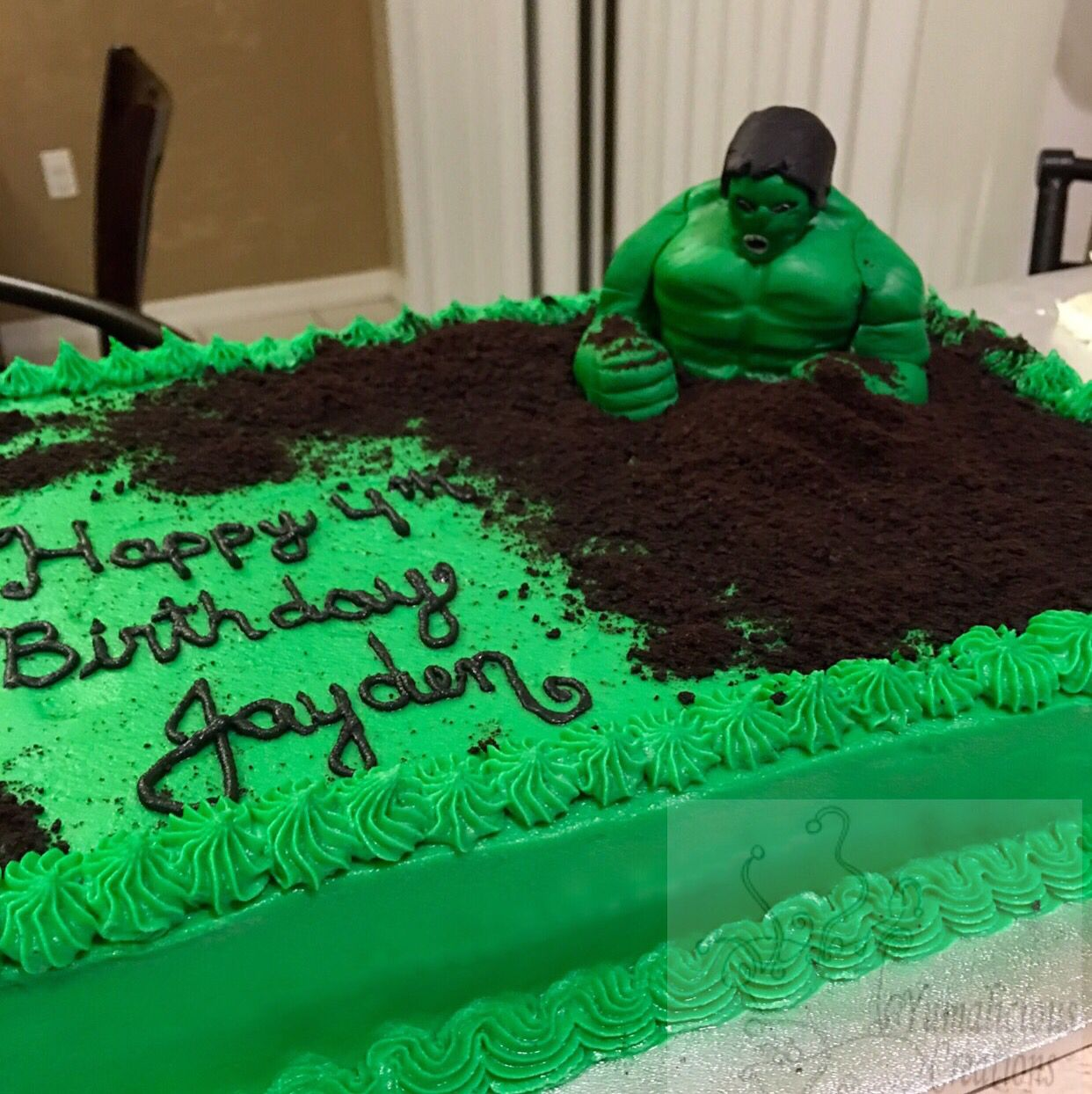 Hulk cake Andy and Vinny Pinterest Hulk cakes Cake and Birthdays