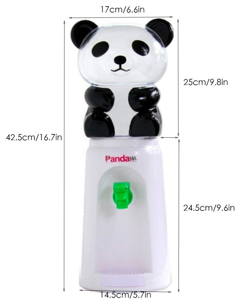 Panda Water Dispenser 2 5 Liters Mini Refillable Water Bottle