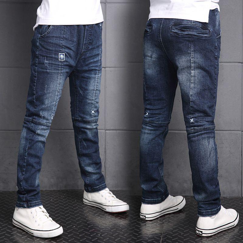 e134759fa Cheap Niños Chicos Pantalones Vaqueros de Mezclilla Otoño del Resorte Pantalones  Pantalones Casuales Niños Pantalones Pantalones Vaqueros de Los Niños ...