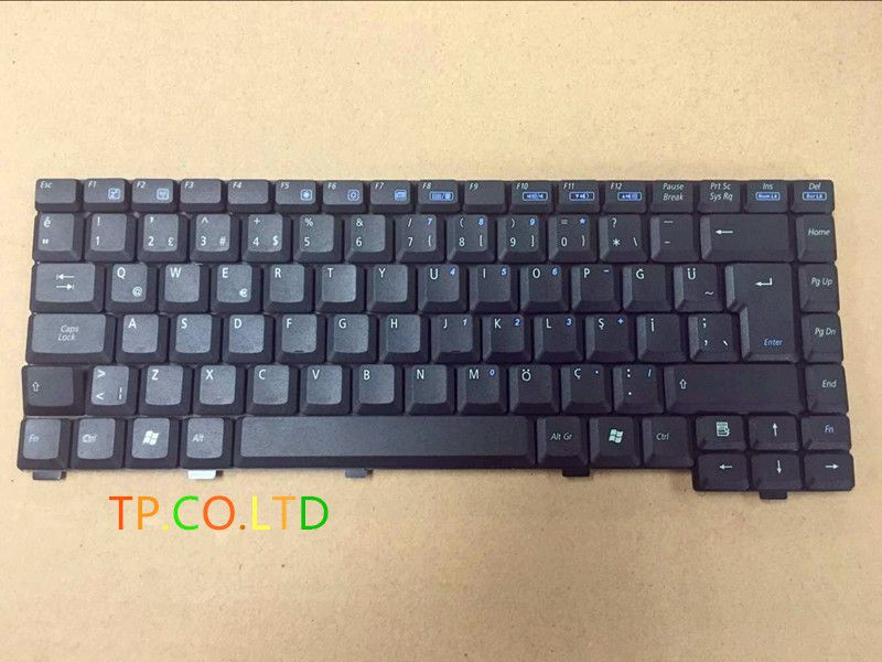 Brand New Turkish keyboard FoR ASUS A6J A3 A6000 A3000 A6 A6T A3500 A6R Service TR version