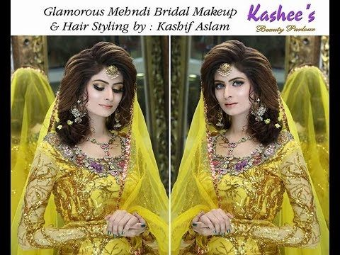 I Mehndi Hairstyles : Ideas of kashees makeup and hairstyle pictures for brides