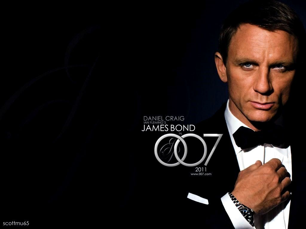 Wallpaper 4k James Bond Trick