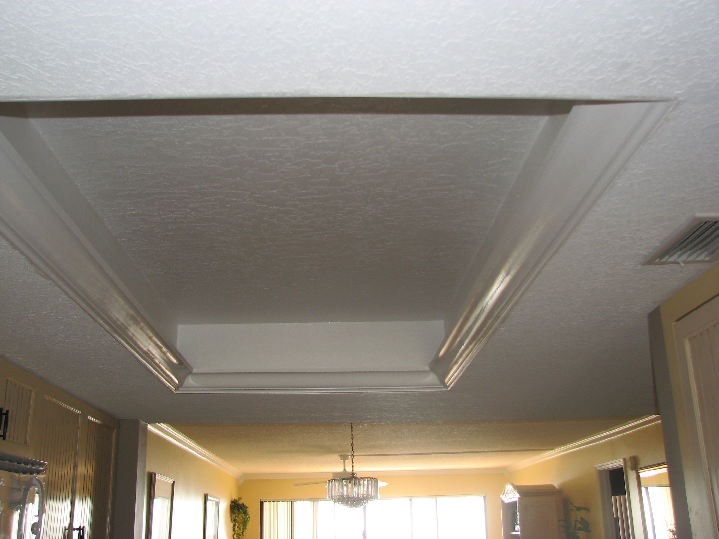 Remove the 80s dome and replace with more modern look - Modern drop ceiling tiles ...