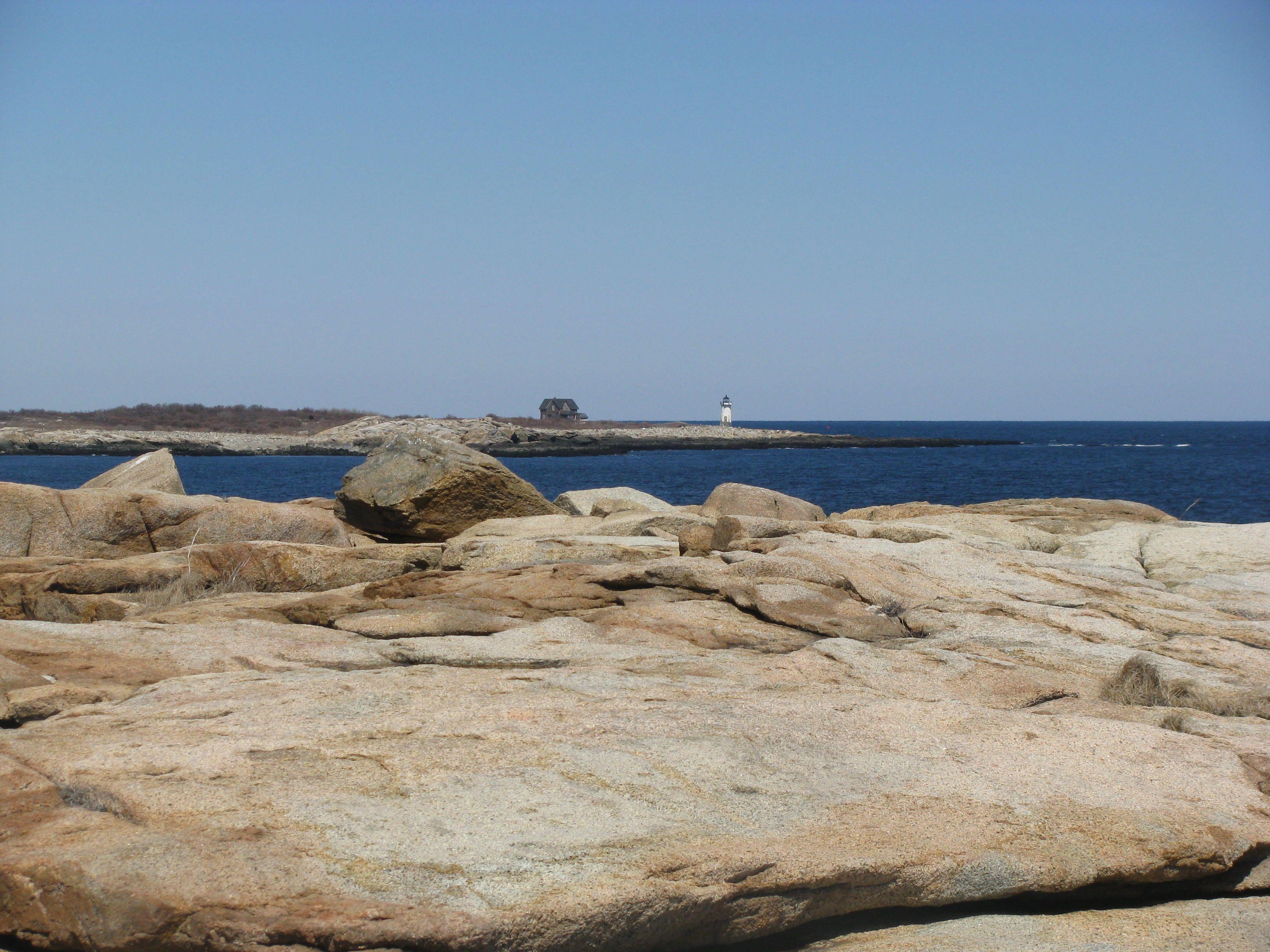 Straitsmouth Island Off Flat Rock Point, Rockport, Ma I Think