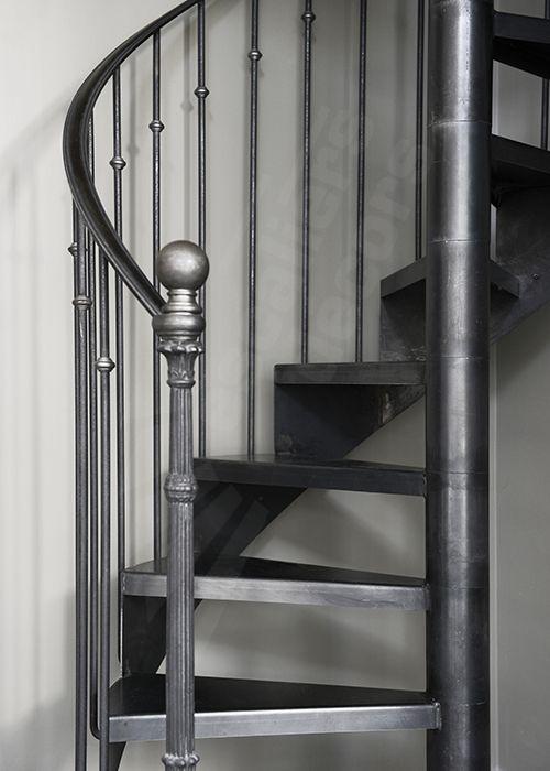 dh122 spir 39 d co bistrot sans contremarche escalier d 39 int rieur en colima on sur 2 niv. Black Bedroom Furniture Sets. Home Design Ideas