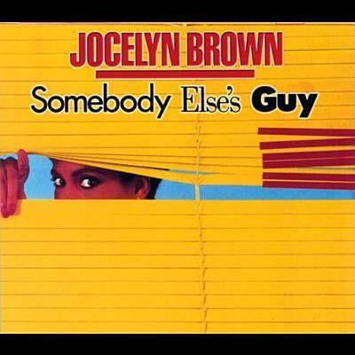 Habe Somebody Else's Guy von Jocelyn Brown mit Shazam gefunden. Hör's dir mal an: http://www.shazam.com/discover/track/323476