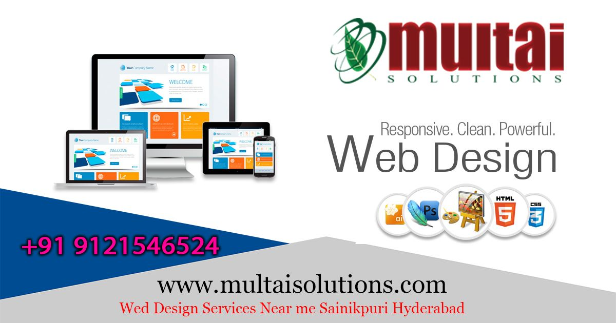 Wed Design Services Near Me Secunderabad Web Design Service Design Design
