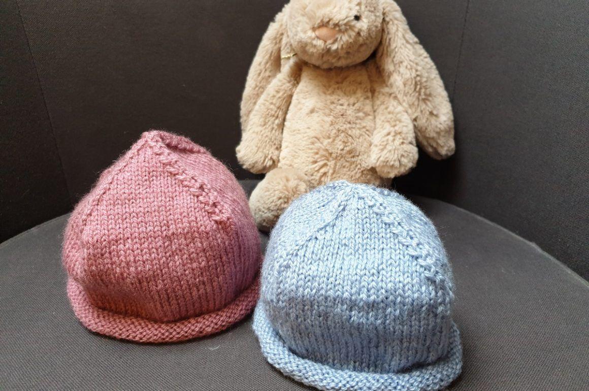 Cappellino per neonato - Ferro da maglia nel 2020 | Cappelli all'uncinetto  da neonato, Cappelli a maglia per bambino, Cappelli a maglia
