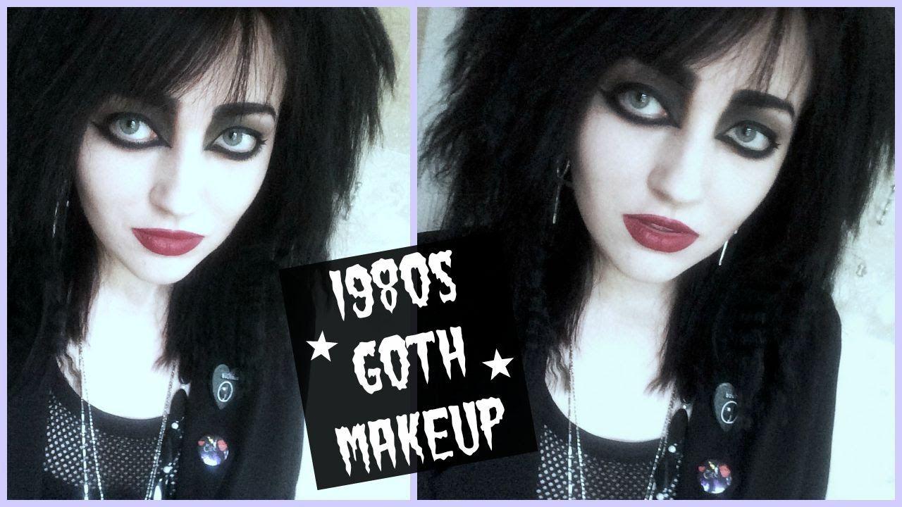 80s Goth Makeup Tutorial Goth Makeup Tutorial Goth Makeup