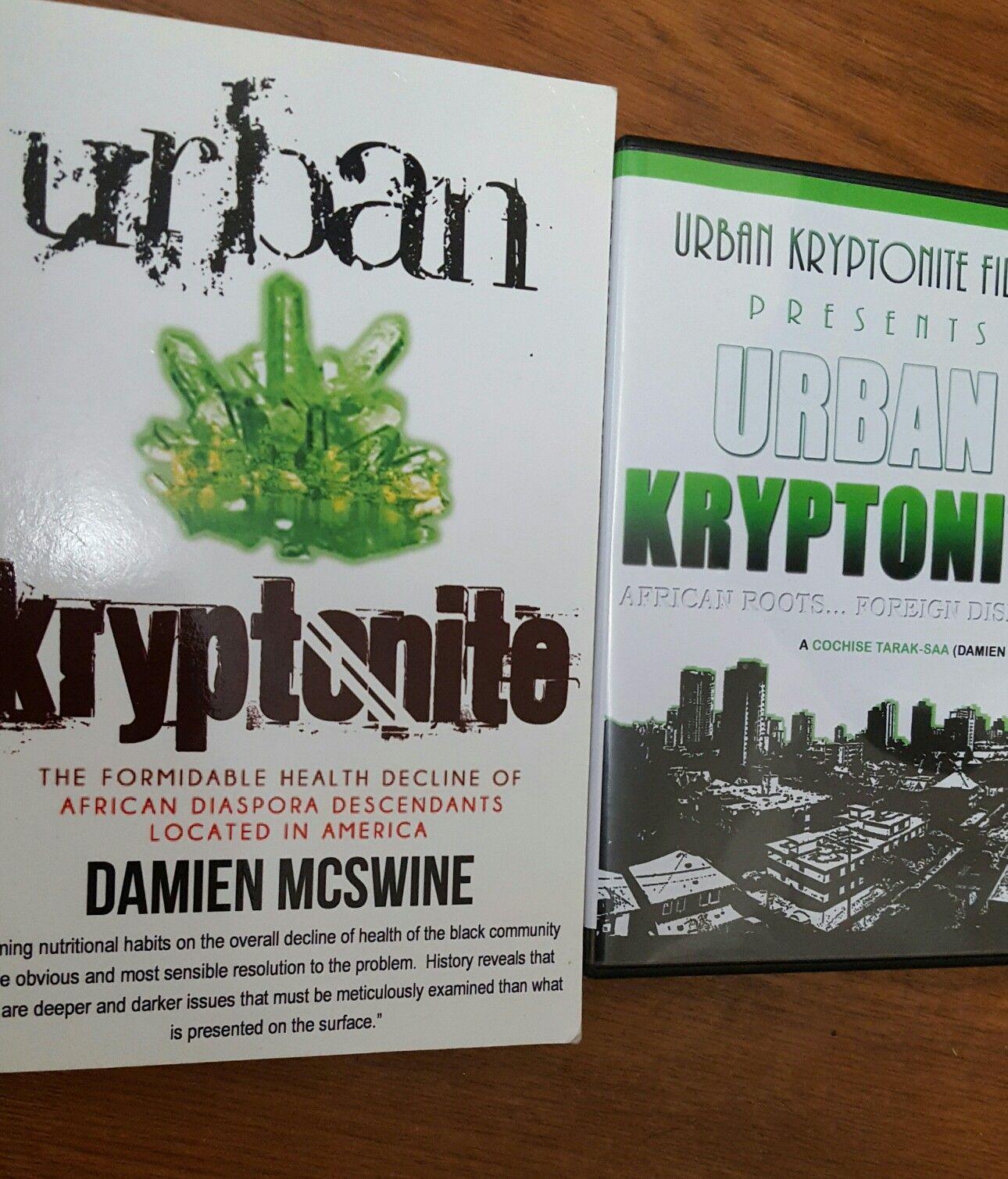Urban kryptonite book and dvd african diaspora