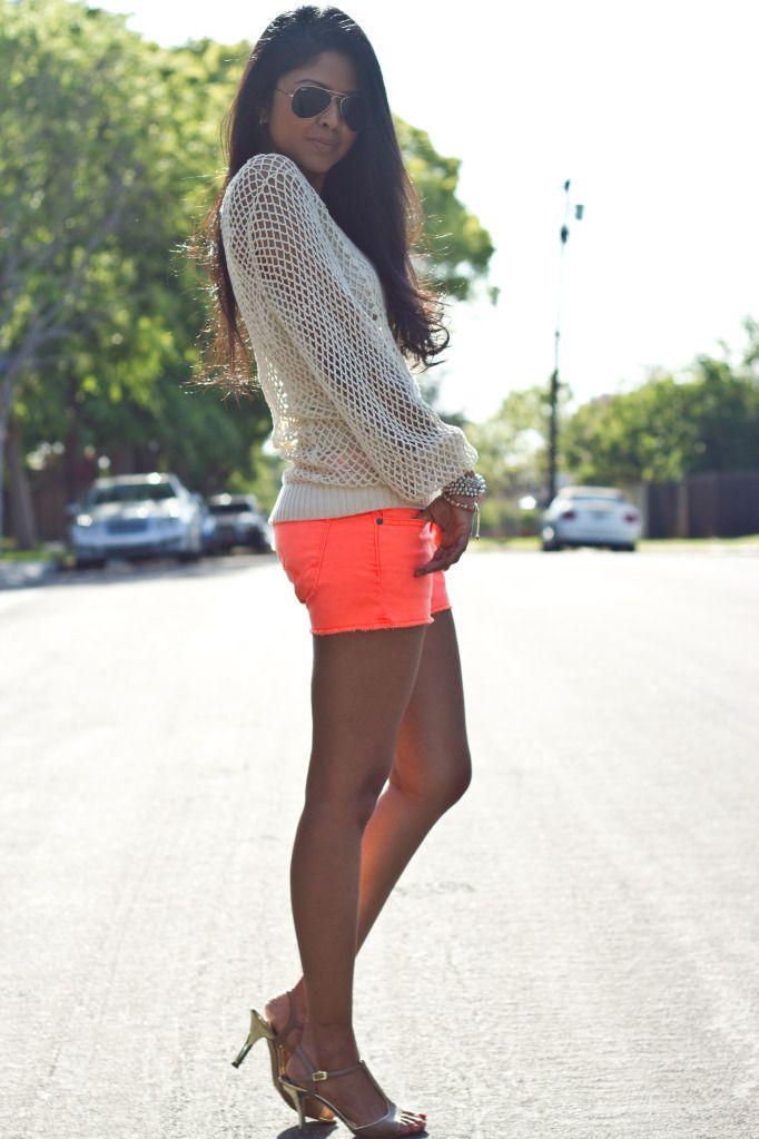 f0321ca3175f I don t know if I could rock the shorts but love this color combination.