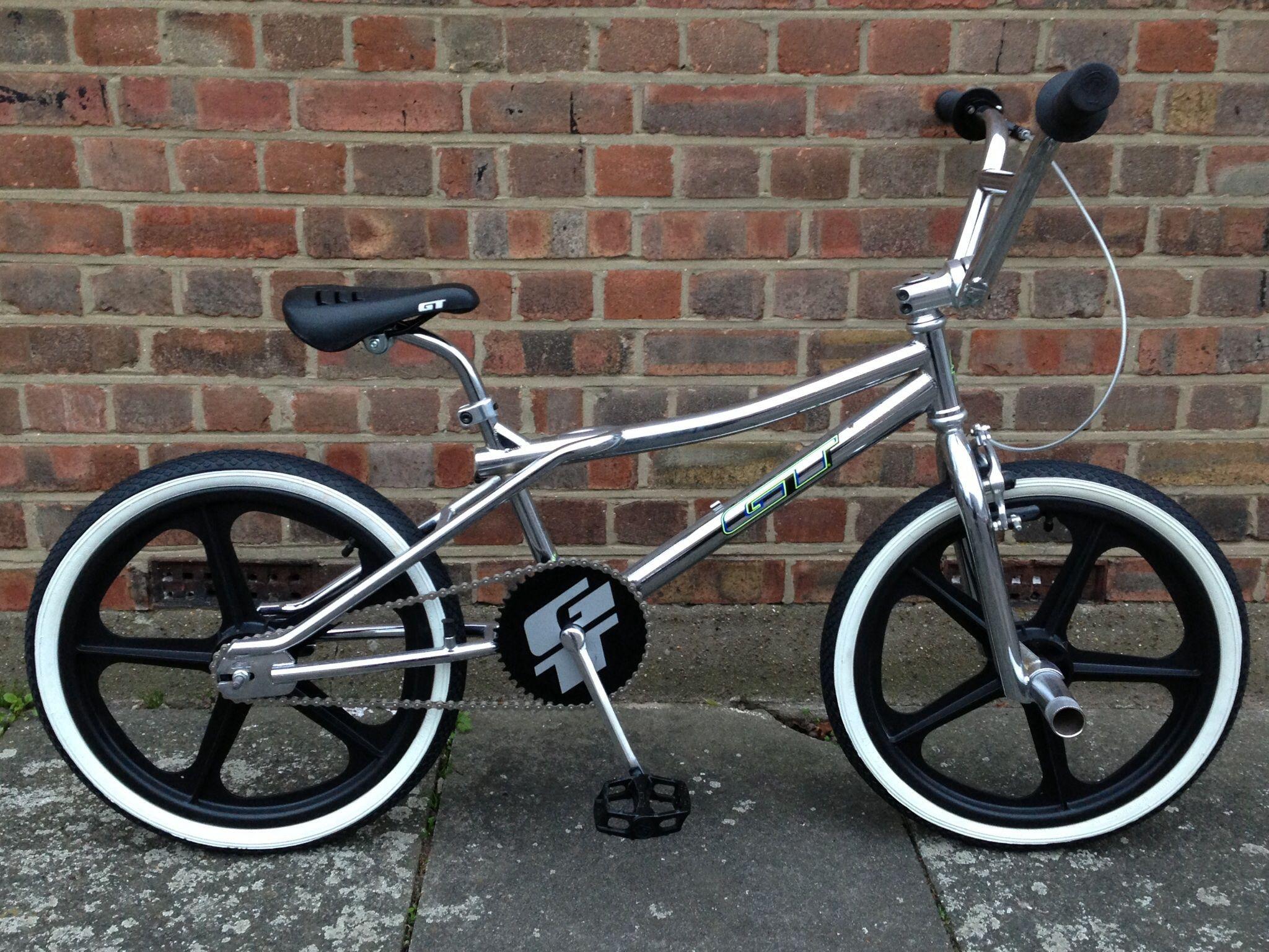 Custom GT Performer 1999 Bmx bicycle, Vintage bmx bikes