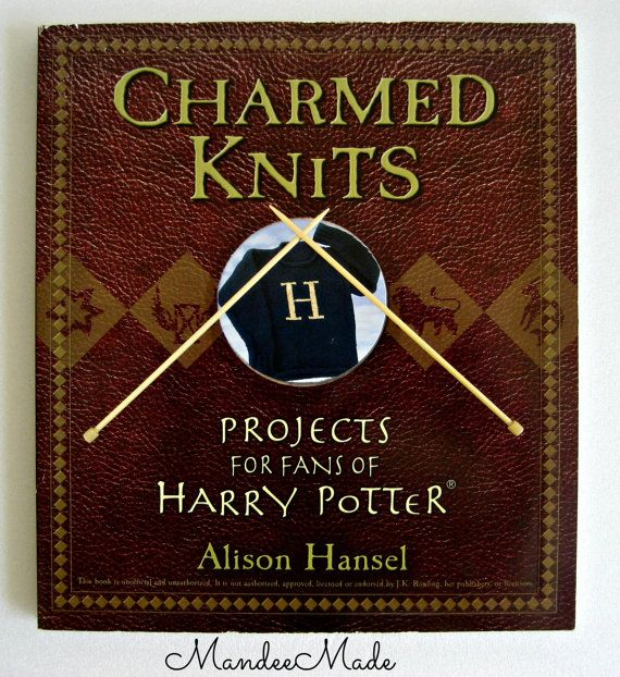 Charmed Knits Pattern Book Harry Potter Knitting by MandeeMade, $40.00