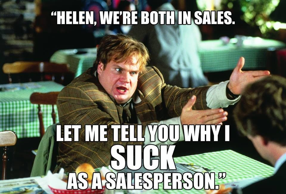"""Chris Farley Tommy Boy Quotes: Helen, You Look Like A """"Helen""""."""