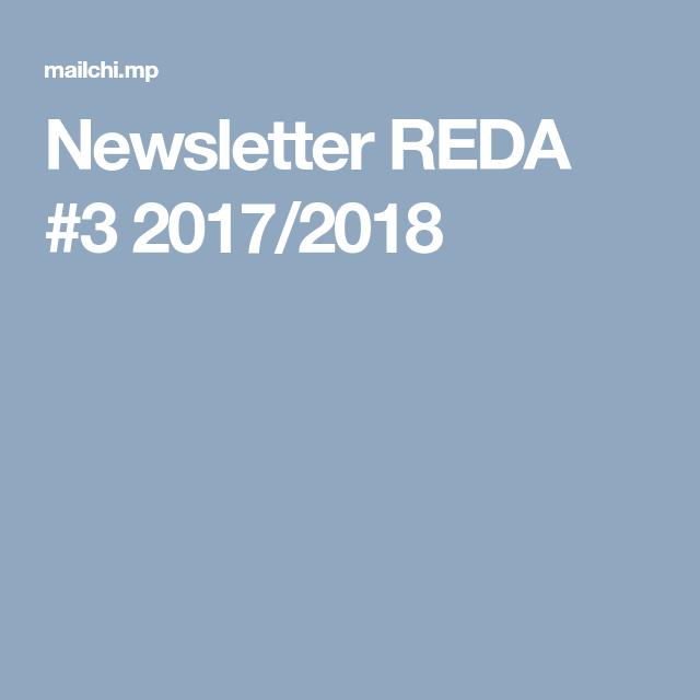 Newsletter REDA #3 2017/2018