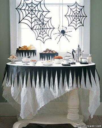 Ideas Para Decorar Tu Puerta En Halloween Mesa De Halloween