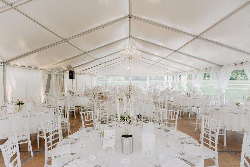 Festzelt Maritime Hochzeit Hochzeitsfeier Scheunen Hochzeit