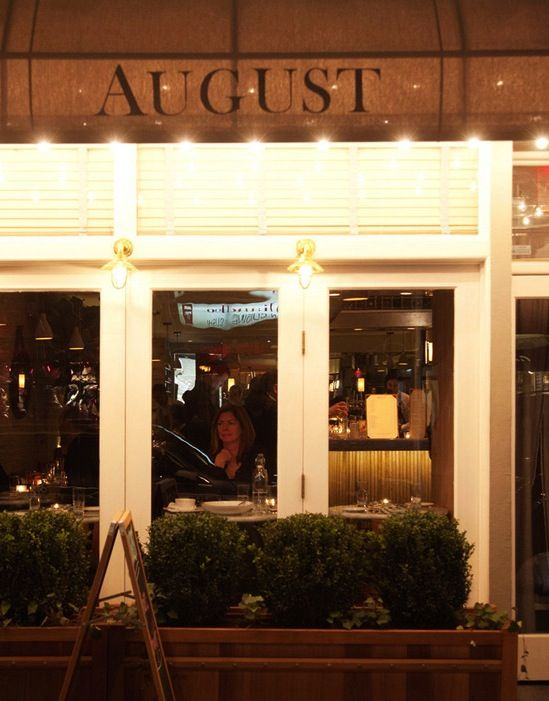 August Restaurant In Nyc Upper East Side