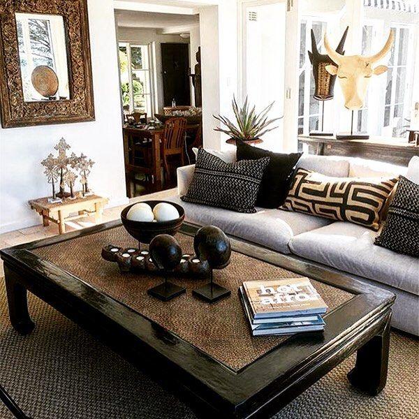 African Inspired Interior Design Ideas: Tribal Decor We Love #decor #interiordesign #Interiordecor