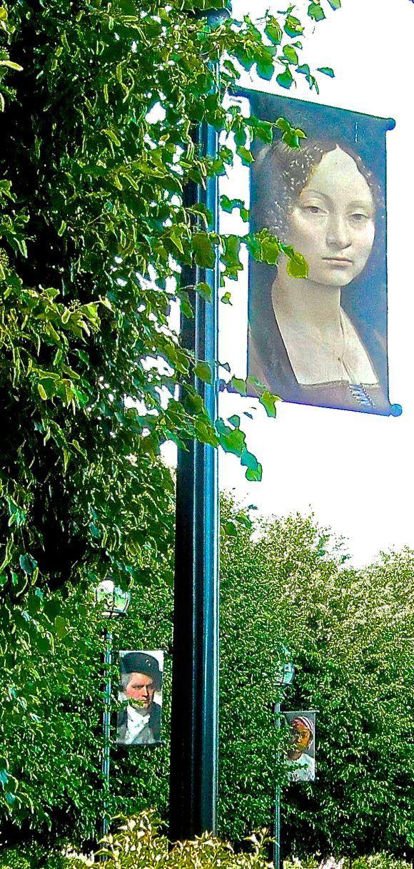 Delma M. Webb, Photographer Art Posters In The Sculpture Garden ...