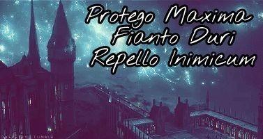 Protego Maxima Fianto Duri Repello Inimicum Harrypotter Hogwarts Spell Protect Protego Tatuagem Tatuagens