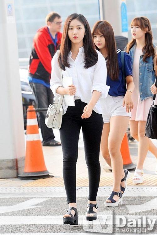 Gfriend Sinb Airport Fashion Official Korean Fashion Korean Fashion Korean Airport Fashion Fashion
