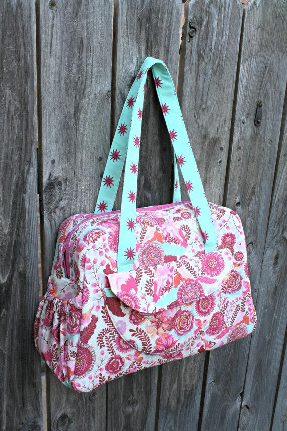 Aragon Bag pdf sewing pattern | Schnittmuster, Taschen nähen und Nähen