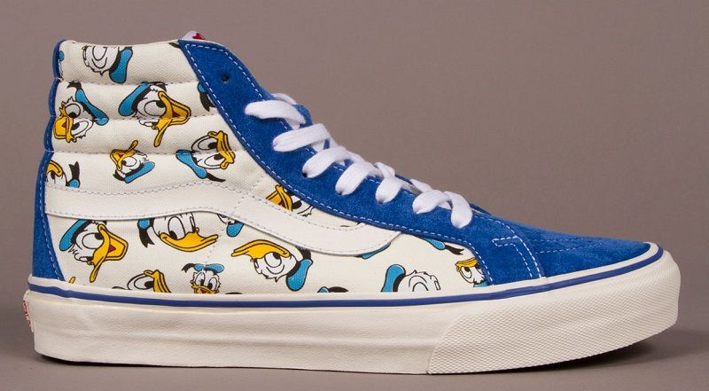 Vault by Vans x Disney Sk8 Hi Donald Duck   Clothes   Vans, Disney ... 7050196401