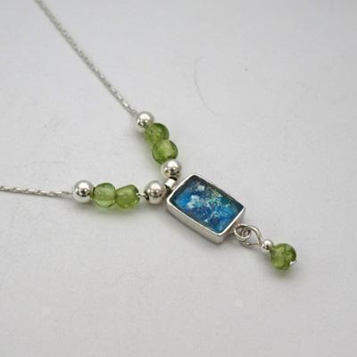 $58 Roman glass necklace