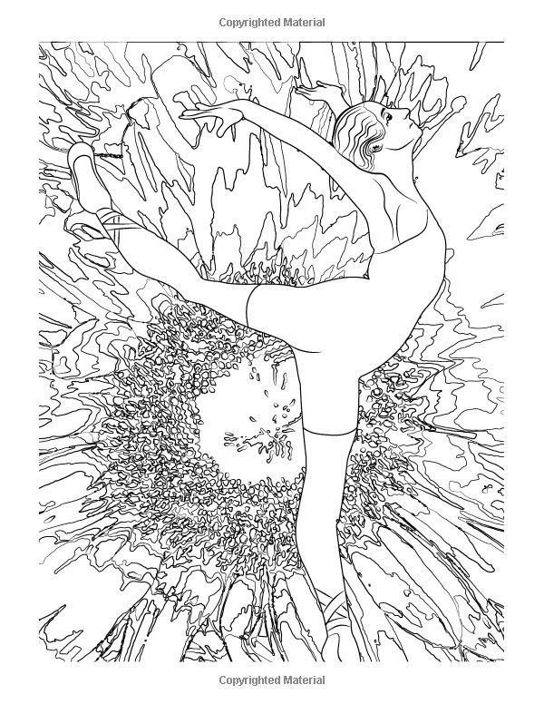 Image result for Adult Coloring Book Ballet and uh 5, 6, 7, 8 - copy coloring pages barbie ballerina