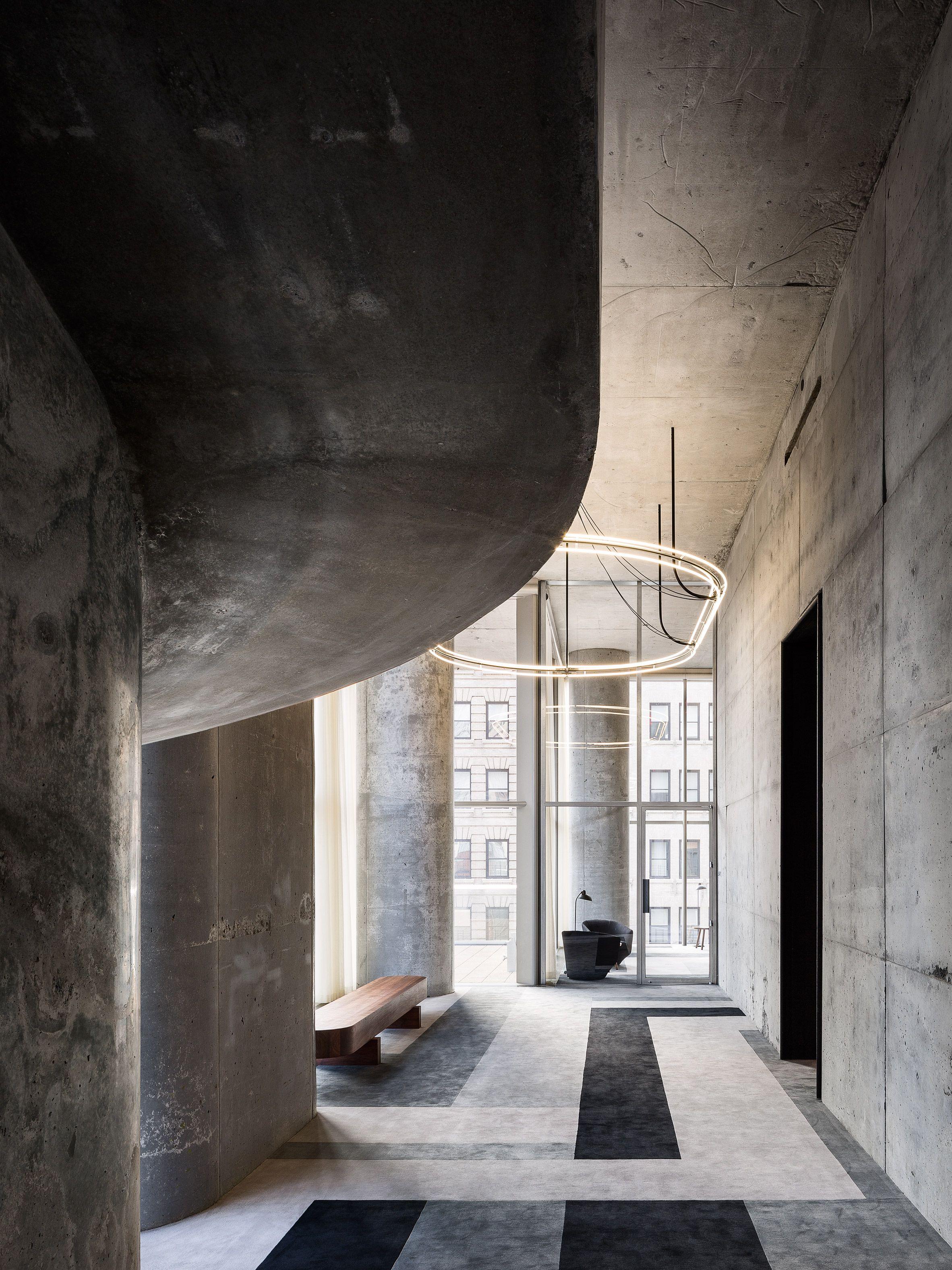 "Herzog & de Meuron s interiors for 56 Leonard ""Jenga"" tower"