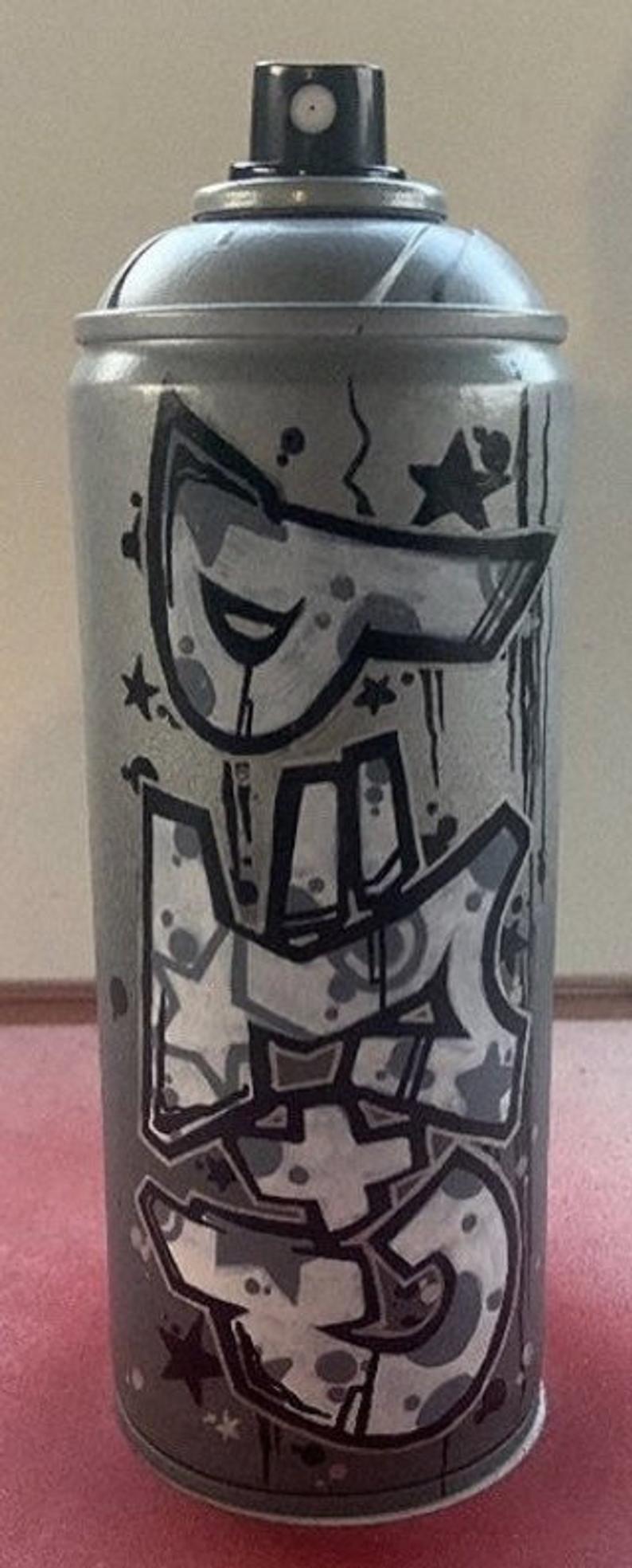 Custom Graffiti Spray Paint Can Name Letters Personalized Art Etsy Spray Paint Cans Graffiti Spray Paint Graffiti