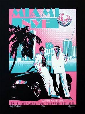Phanart Franky Scaglione Miami Vice Poster Miami Posters