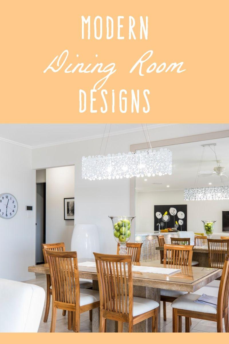 Modern Dining Room Design For Your Home Dining Room Design