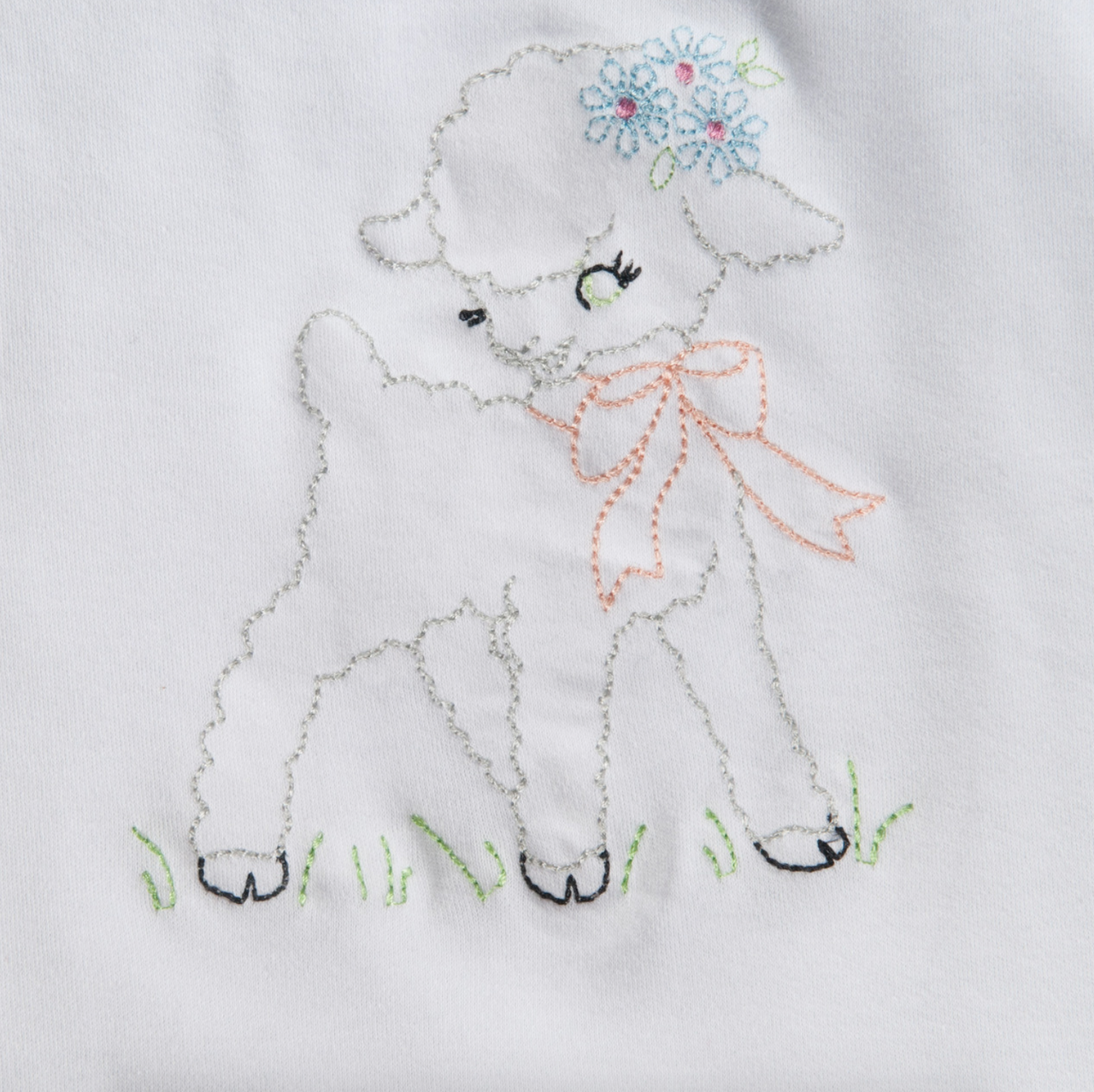 Pin By Stitch On Easter Appliques Baby Embroidery