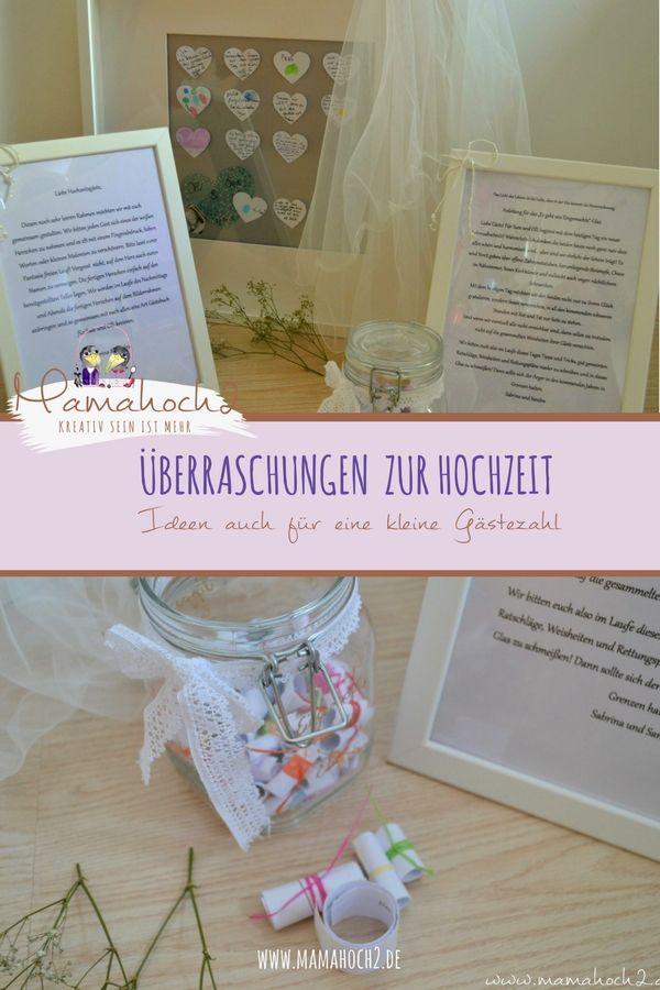 Uberraschungen Fur Die Hochzeit Im Kleinen Kreis Engelchen Pinterest