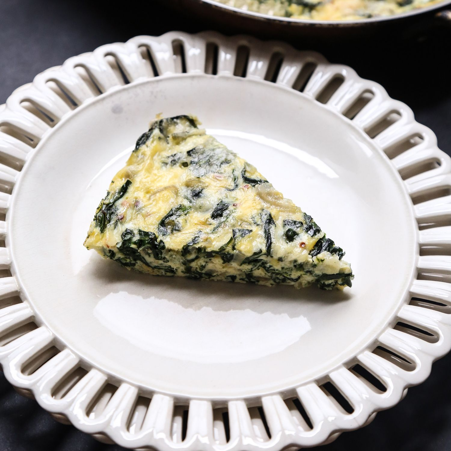 This crustless quiche is similar to a frittata and serves as a great gluten-free alternative. Get the recipe from Food & Wine.