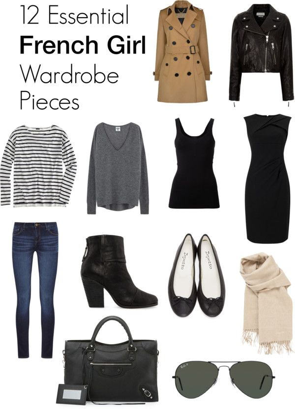 12 Essential French Girl Wardrobe Pieces
