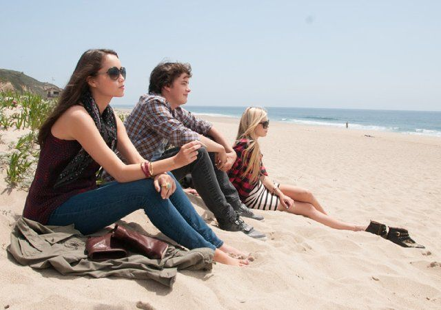 Still of Israel Broussard, Katie Chang and Claire Julien in The Bling Ring