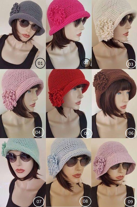 WOMAN COTTON HAT, Crochet Summer Hat ,bucket hat, chemo Hat,Crochet ...