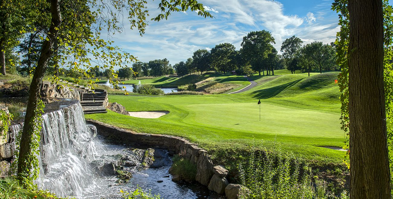 Great River is the top semi-private golf club in Connecticut.