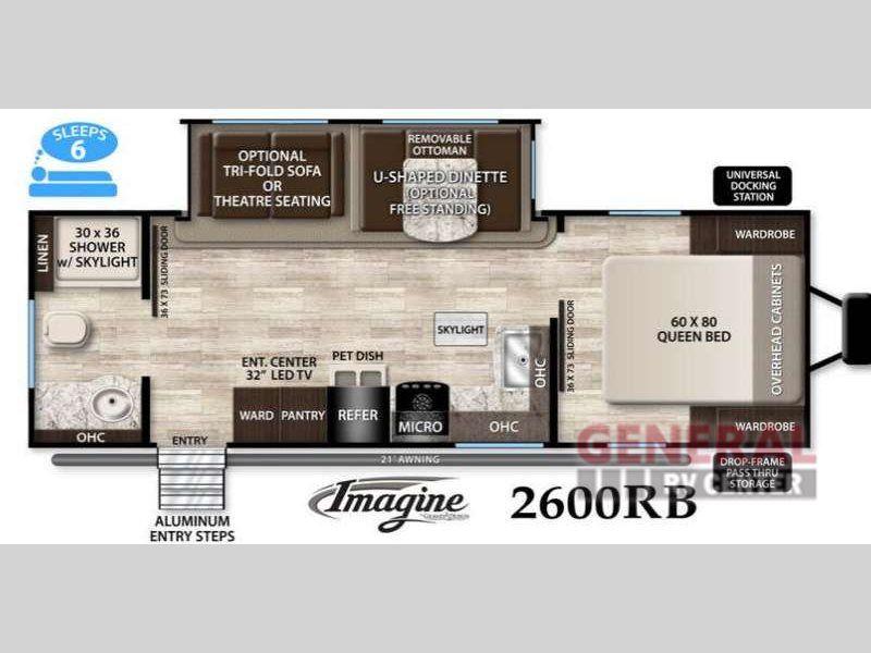 New 2016 Grand Design Imagine 2600rb Travel Trailer At General Rv