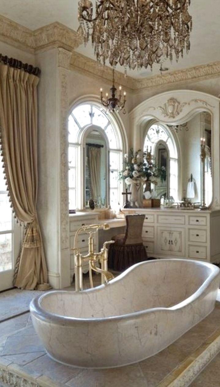 Old world mediterranean italian spanish tuscan homes - Bathroom designs for home ...