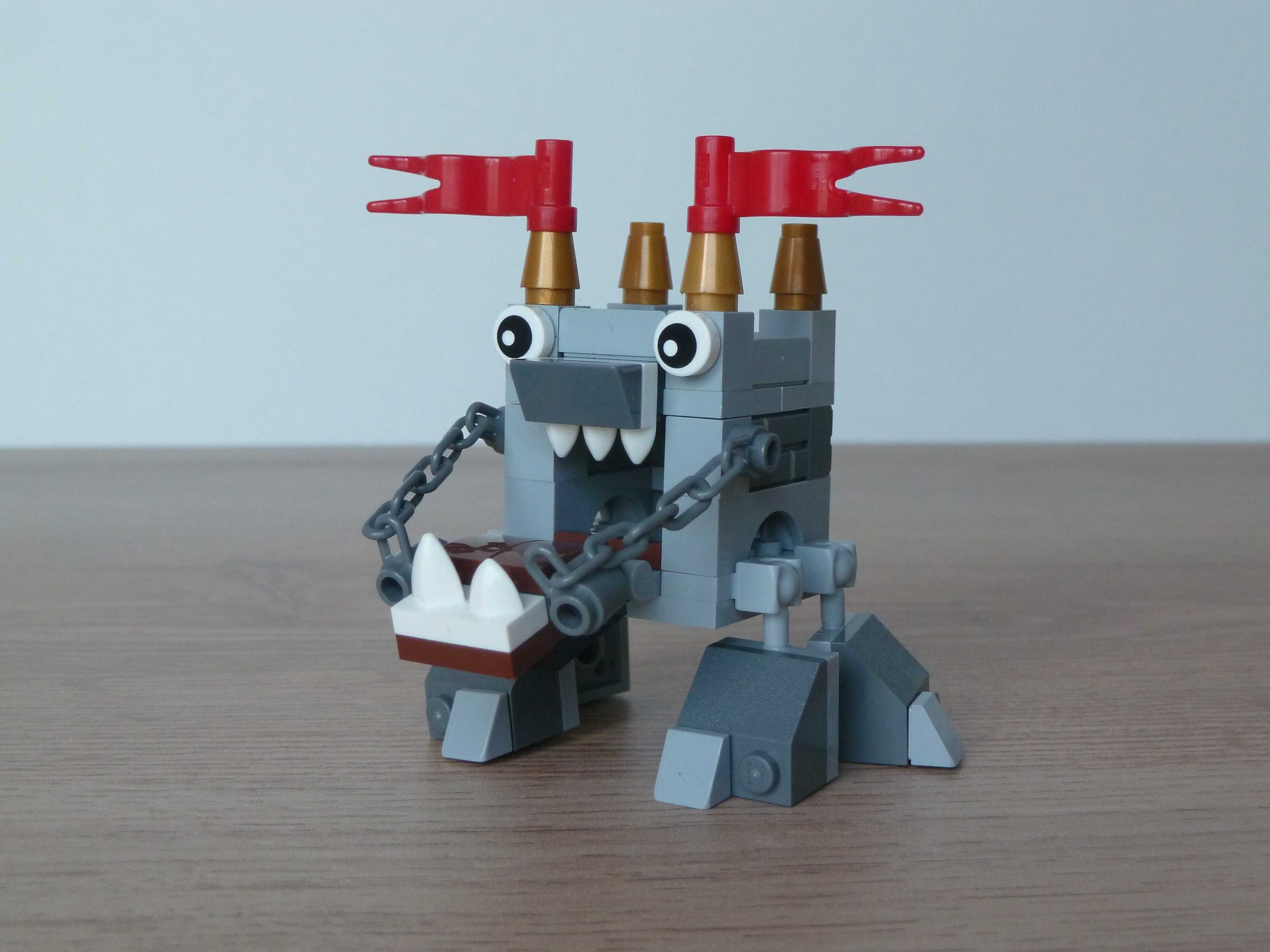 Lego mixels series 7 medevial moc fan made instructions
