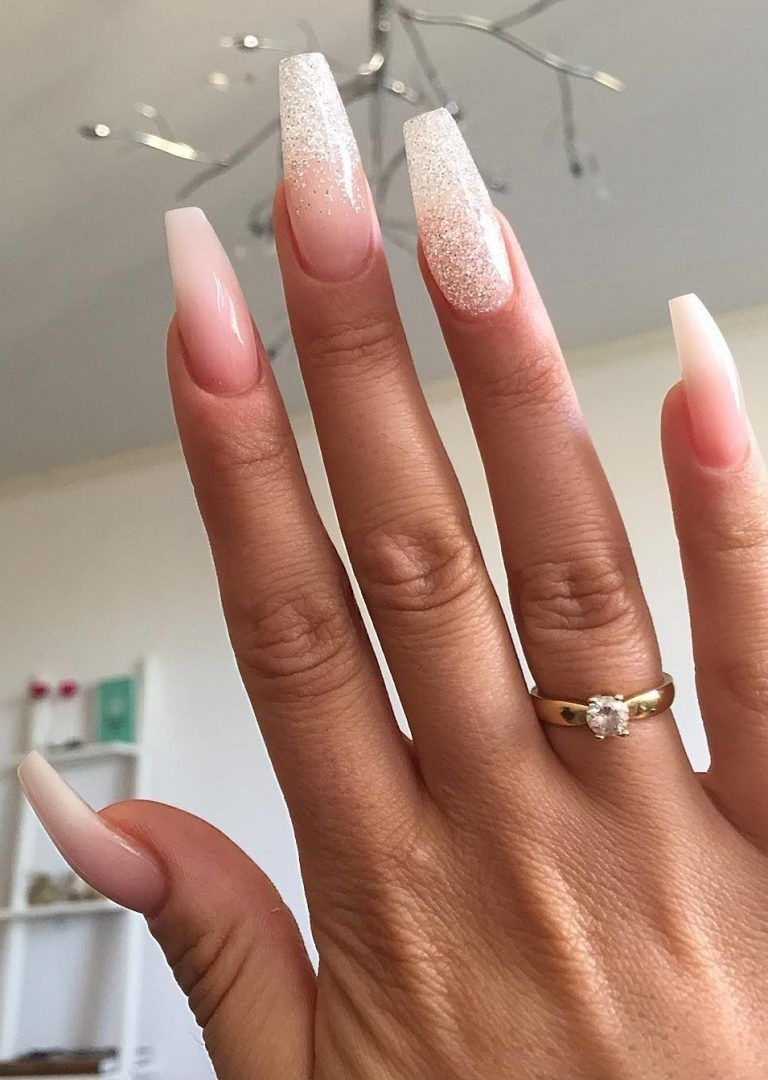 25 Special Winter Nails Acrylic You Can Try In 2020 Acrylic Nail Designs Coffin Winter Nails Acrylic Long Nail Designs