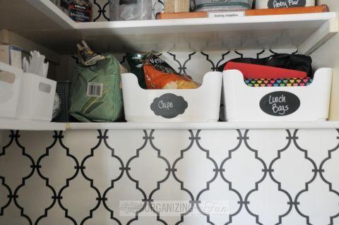 Beautifully Organized Pantry in 2018 Organization Pantry