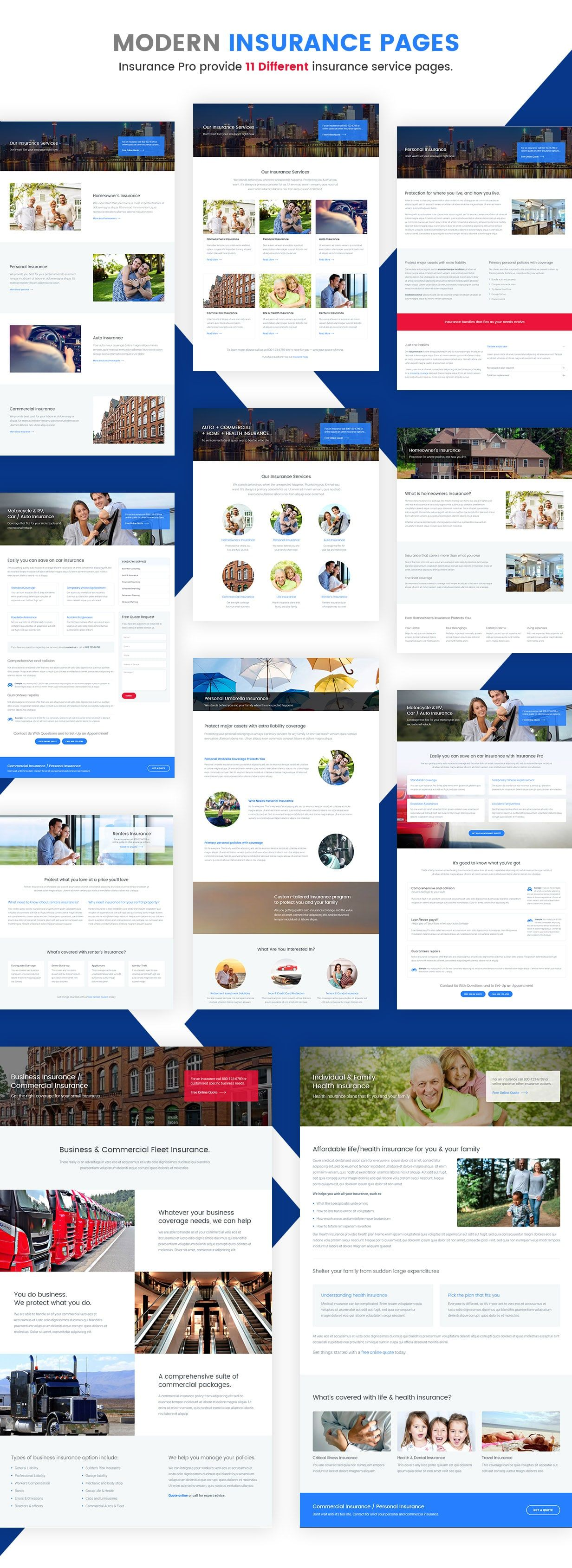 Insurance Pro Ultimate Template for Insurance Agency