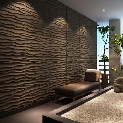 24 6 X 31 5 Plant Fiber Wall Paneling In Primitive White Color Textured Wall Panels Decorative Wall Panels Brick Wall Wallpaper