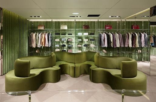 Prada boutique interior design google s gning interior for Interior design negozi