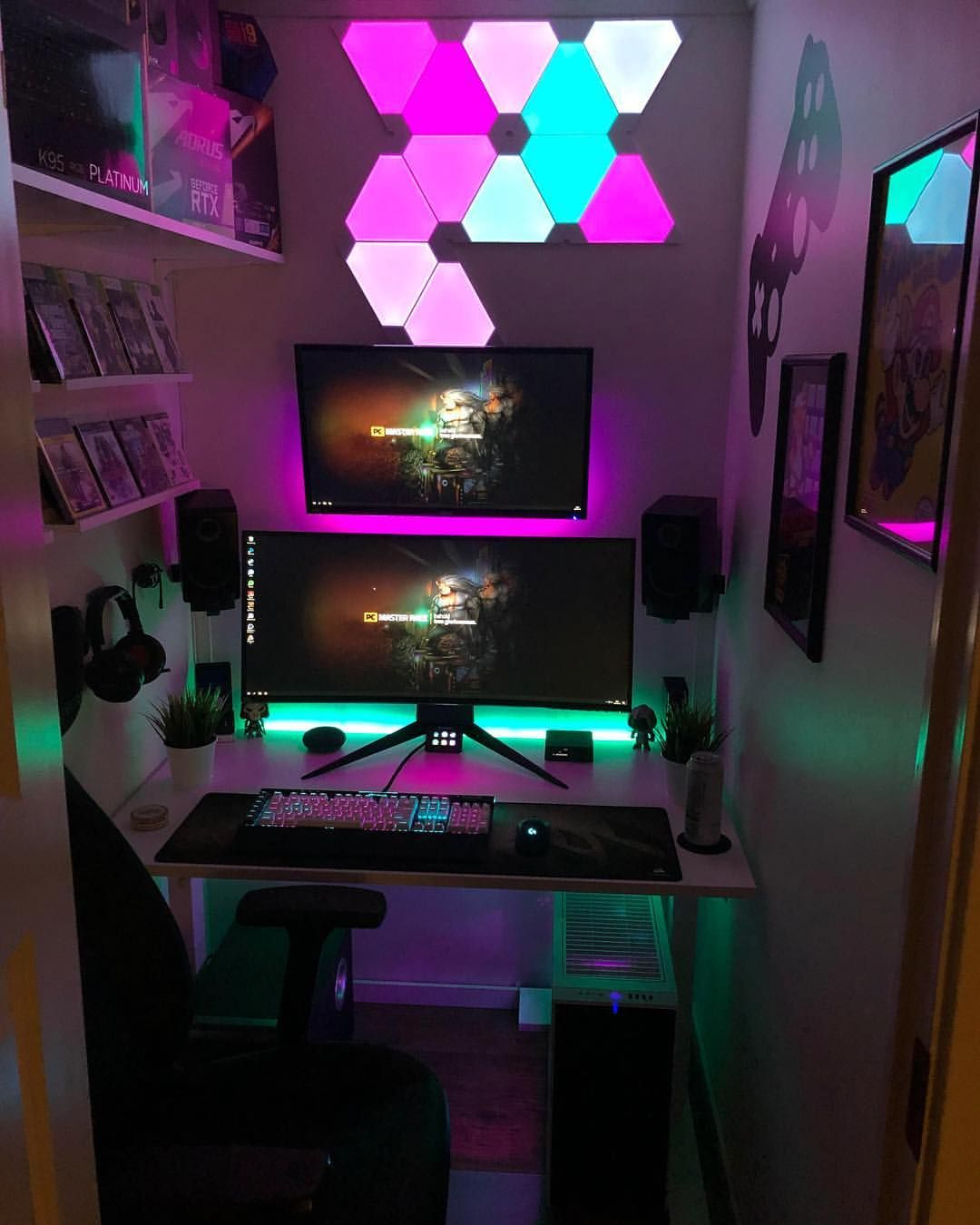We researched the best products to help you get your game on. Pin by BROTHERTEDD on Setups   Video game room design ...